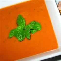 Rachel's Tomato Basil Soup | Recipe