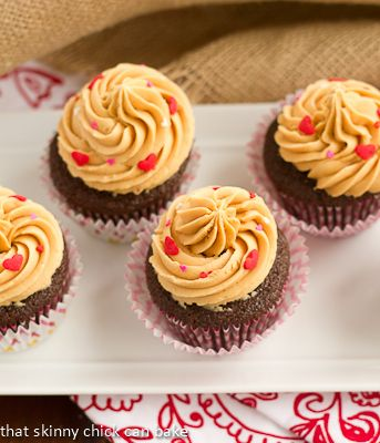 Chocolate Stout Cupcakes with Caramelized White Chocolate Ganache | R ...