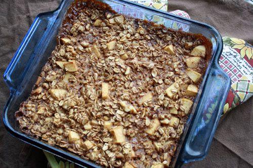 apple cinnamon baked oatmeal # vegan http vegtastic net 2012 01 apple ...