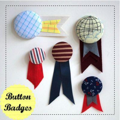 Fancy Button Badges