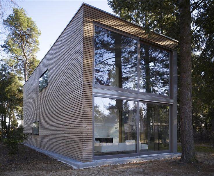 MINIMUM #HOUSE by SKA #Architekten #GERMANY #2008 #ecological #solar #economic #architecture #landscape