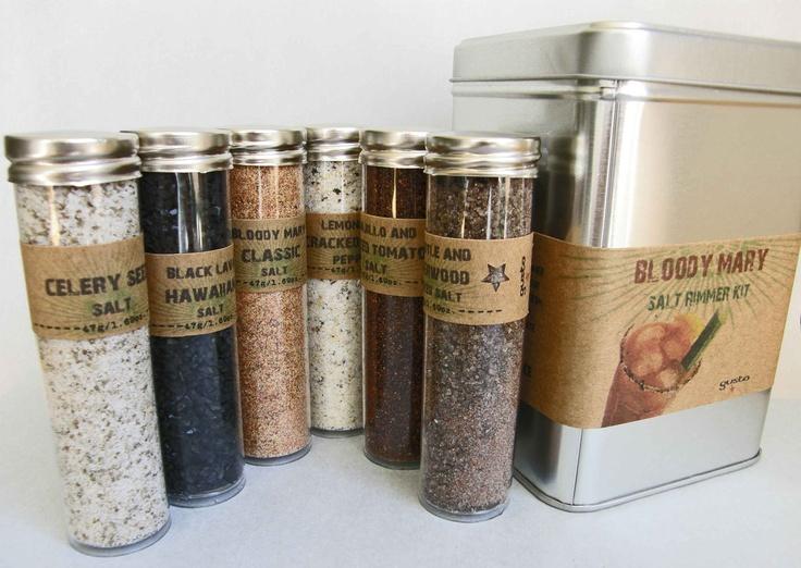 Gusto's BLOODY MARY Salt Rimmer Gift Kit - Sunday Brunch, Bridal Show ...