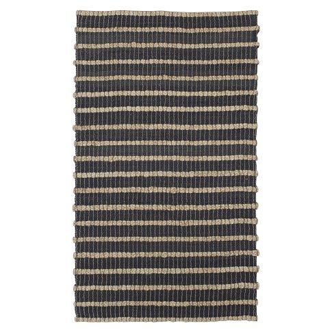 west elm two tone jute rug