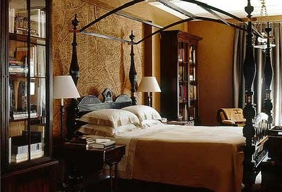 Steampunk bedroom the house of my daydreams pinterest for Steampunk bed