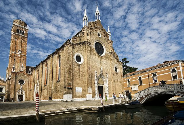 Saint Mary of the Friars (Santa Maria Gloriosa dei Frari) in Venice, Italy
