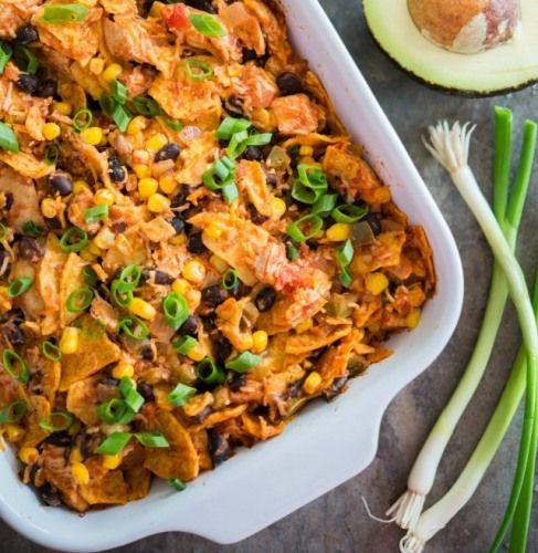 Tex Mex Chicken Casserole Recipe | Recipes | Pinterest