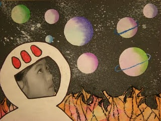 3rd Grade Outer Space- if I ever hop up a level ;)