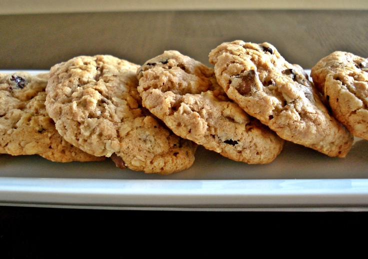 oatmeal cookies chocolate chip cherry | cookies | Pinterest