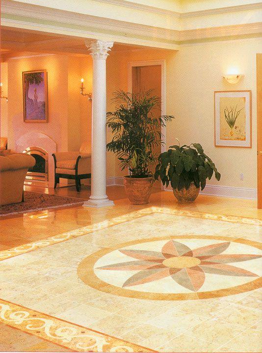 Tile entry design entry way pinterest for Entrance foyer tiles