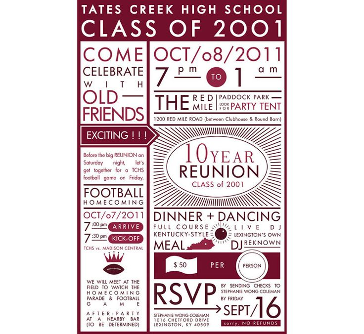 Homecoming Invite Ideas for good invitations template