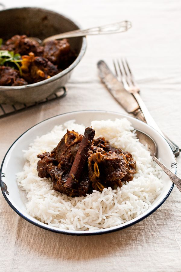 Goat Curry with Five Whole Spices | My International Foods | Pinterest