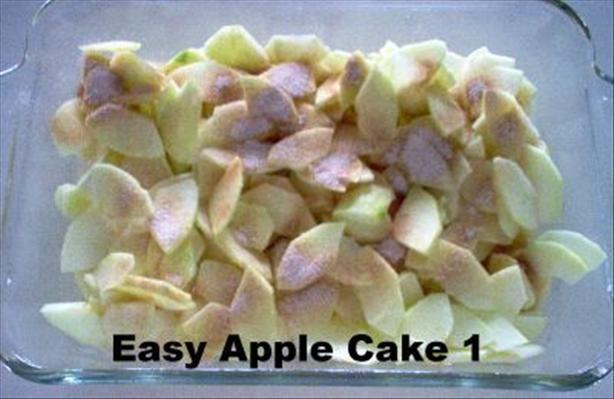 Easy Apple Cake | Desserts | Pinterest