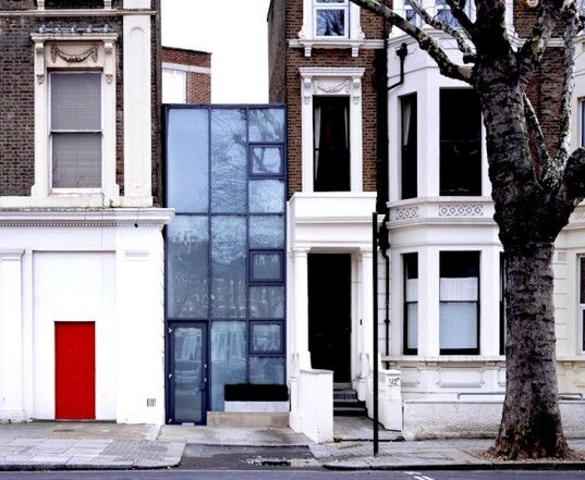Narrow House Facade Boyarsky Murphy Architects Skinny House Narrow House Sliver House