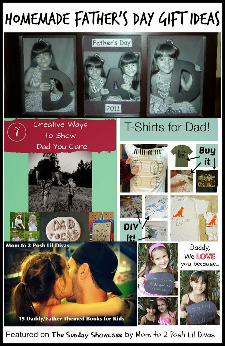 father's day homemade gifts ideas