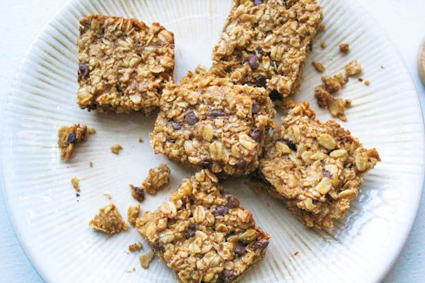 Chocolate Chip Cookie Granola Bars made with Trader Joe's Cookie ...