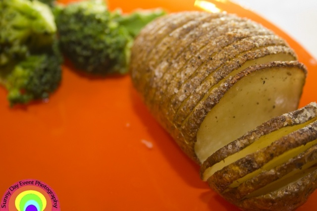 Hasselback Potato | Sunny Day Event Photography | Pinterest