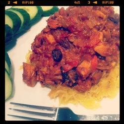 Taj Mahal Turkey Curry — Punchfork | To Taste | Pinterest