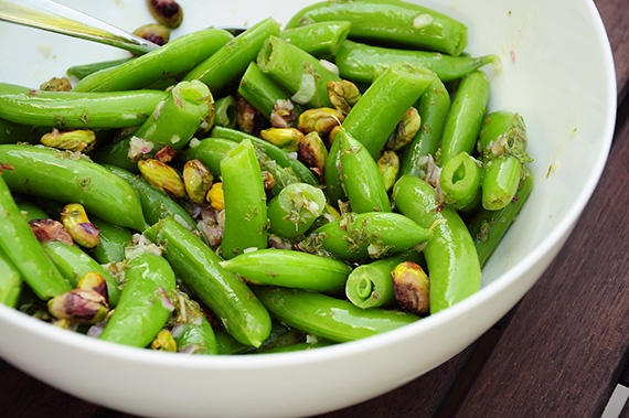Sugar Snap Pea Salad | Yummy Recipes | Pinterest