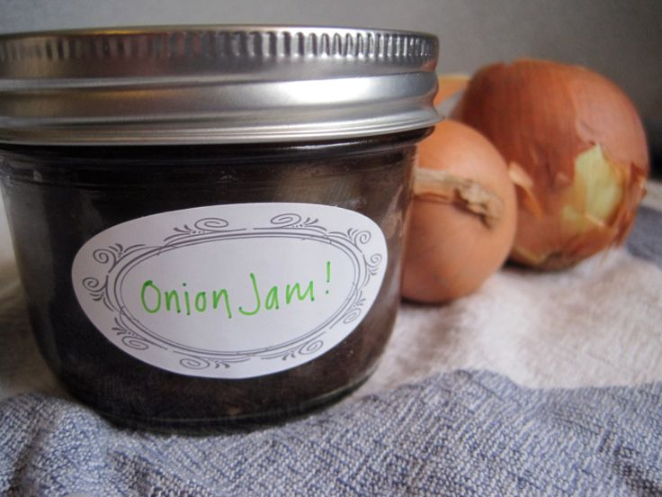 "Savory Onion Jam | Can you say ""YUM?"" 