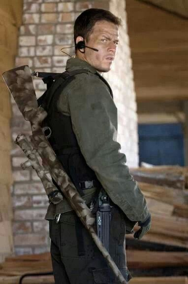 "Mark as Bobby Lee Swagger in ""Shooter"" 
