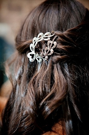 wedding #bridal #hair #accesories Real New York Queens Wedding at The ...