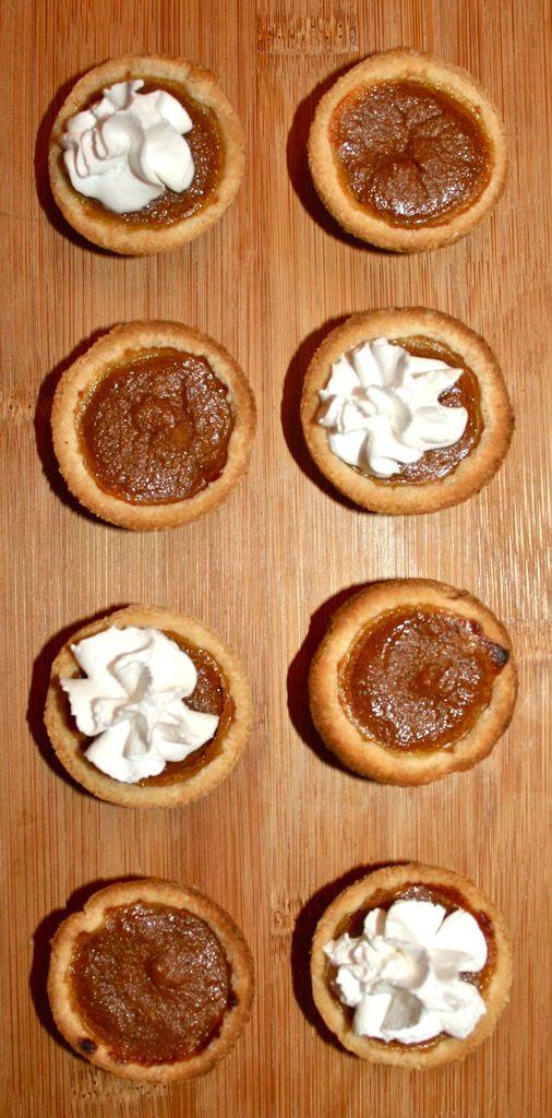 Mini Pumpkin Tarts | Favorite Recipes | Pinterest