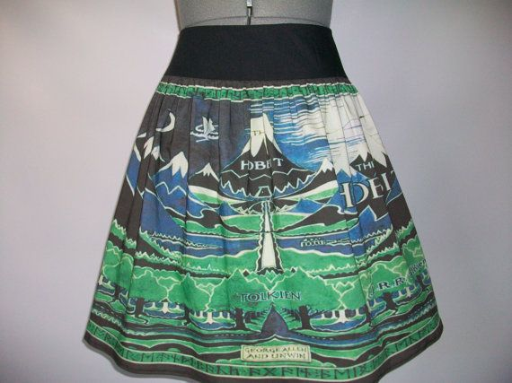 If i meet a woman wearing this, i may may her: The Lord of the Rings: The Hobbit Inspired Skirt