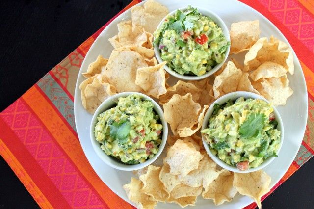 Roasted Corn Guac! Yumm!!