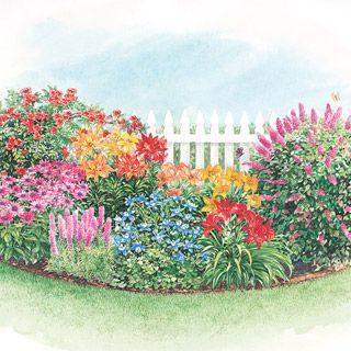 Butterfly and Hummingbird Garden Garden Inspiration