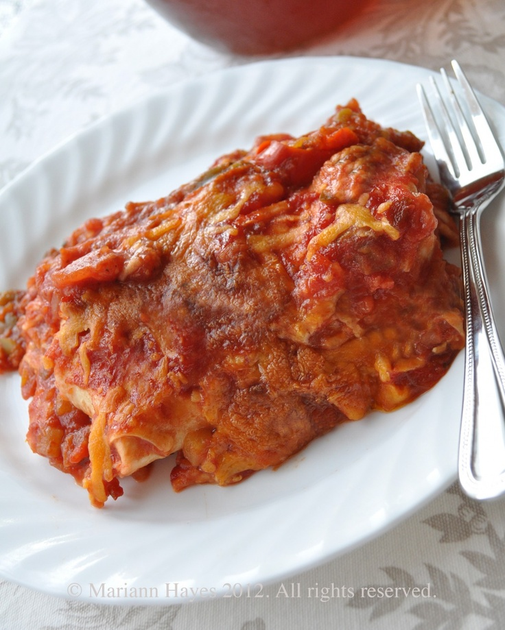 Vegetarian Enchilada Casserole | Vegetarian | Pinterest