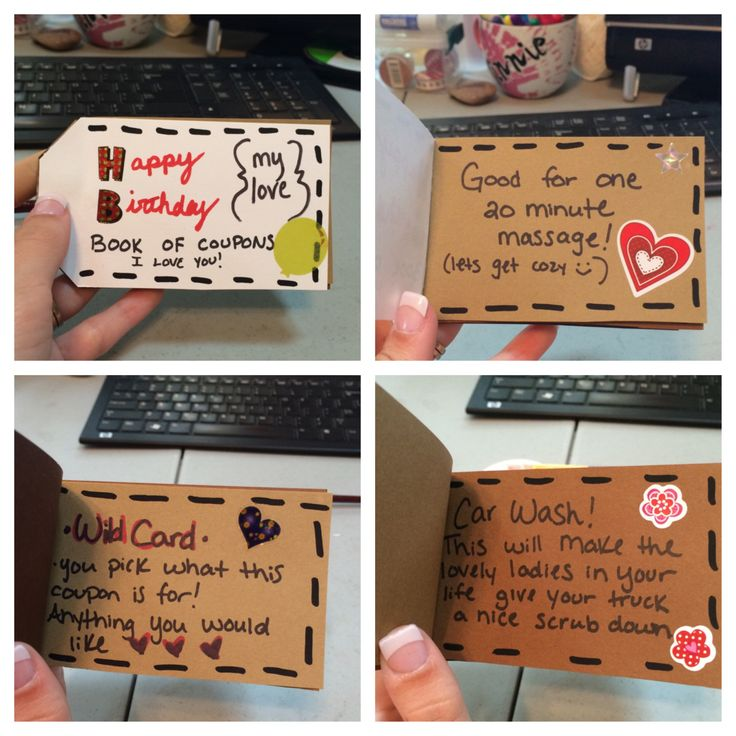 Gift Ideas For Him The Generous Wife Homemade Birthday
