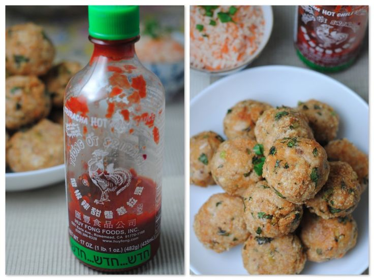 Sriracha Turkey Meatballs..These are BOMB. I made them the other night ...