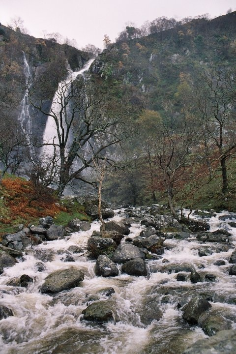 Aber Falls, Abergwyngregyn, Wales | Mists of Time | Pinterest