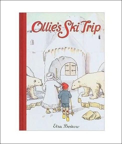 FABULOUS Elsa Beskow book -- King Winter, Jack Frost and Mrs. Thaw!