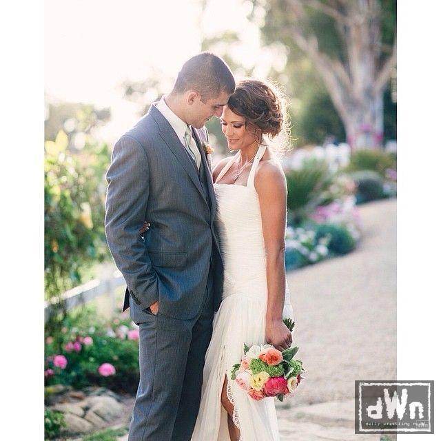Rener Gracie & his lovely bride Eve Torres