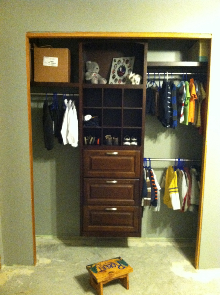 Closet organizer from lowes ryan 39 s new bedroom pinterest - Closets organizers lowes ...