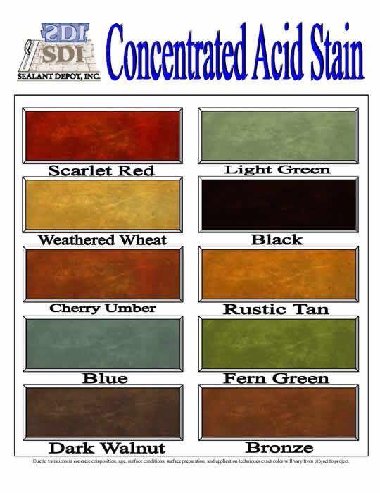 Pin by JENNIFER BROUSSARD on CONCRETE STAIN COLORS  Pinterest
