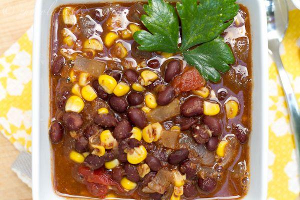 Fiesta Black Bean Soup | soups | Pinterest