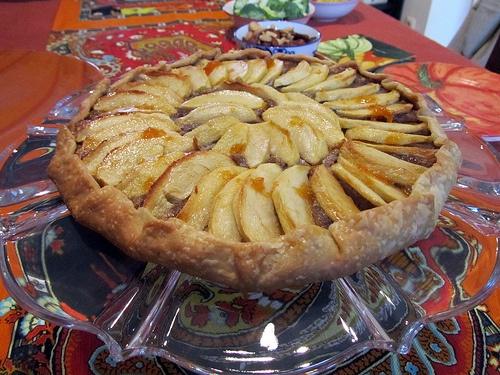 Apple Walnut Galette http://www.foodnetwork.com/recipes/food-network ...