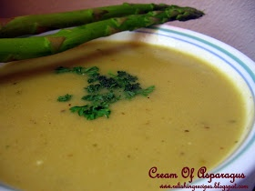 ... asperges cream of asparagus soup cream of asparagus soup crème d