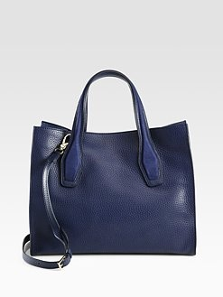 Tod s - Leather and Suede Shopper