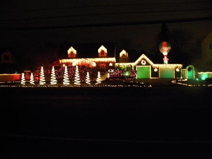 Outdoor Christmas Lights Holiday Ideas Pinterest