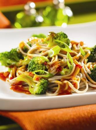 Soba Noodles With Broccoli Sauce Recipe — Dishmaps