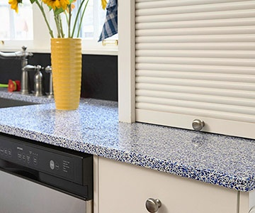 Types Of Countertop Material Pros And Cons : Glass Countertop: Pros & Cons