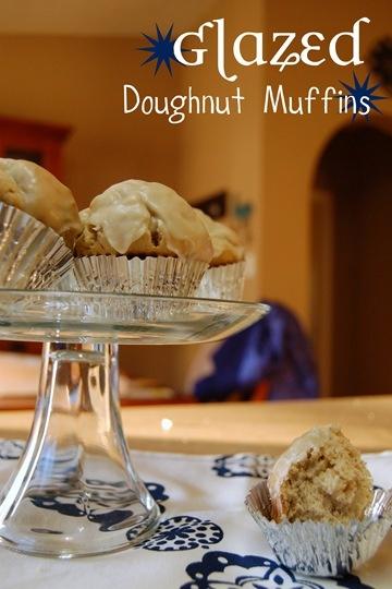 Glazed Doughnut Muffins | Breakfast Yummies | Pinterest