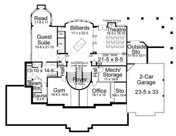 Country Farmhouse Greek Revival House Plan 98275