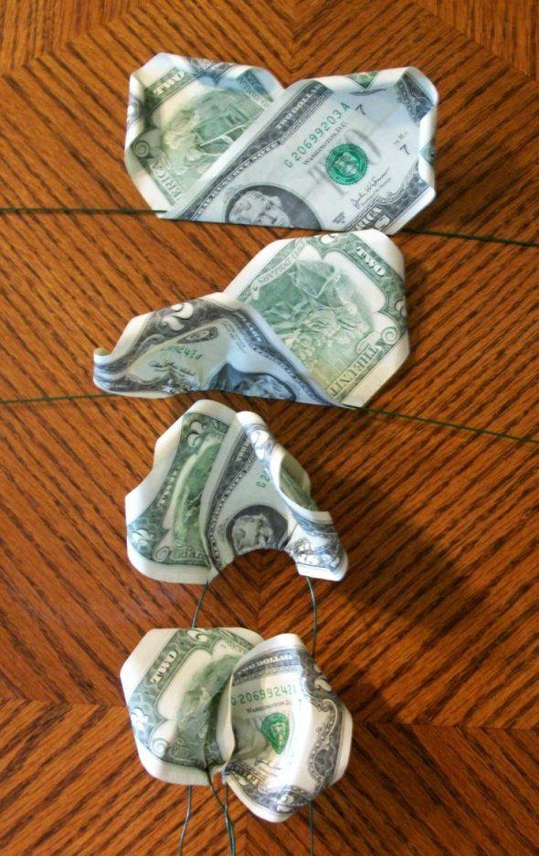 Розы из денег своими руками для начинающих 98