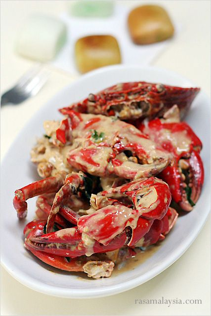 Creamy Butter Crab Recipe, super delicious with fried mantou.