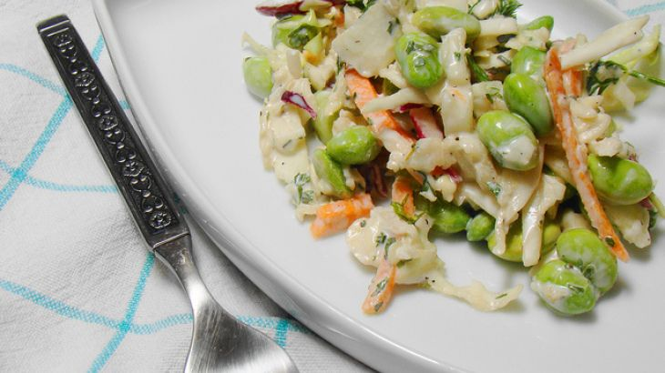 ... cole slaw with wasabi dressing recipes dishmaps cole slaw with wasabi