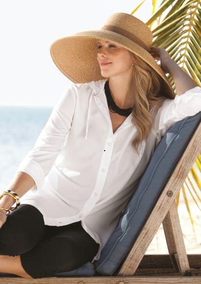 Coolibar - Women's Beach Shirt Coolibar sun protection (Anti uv Sun